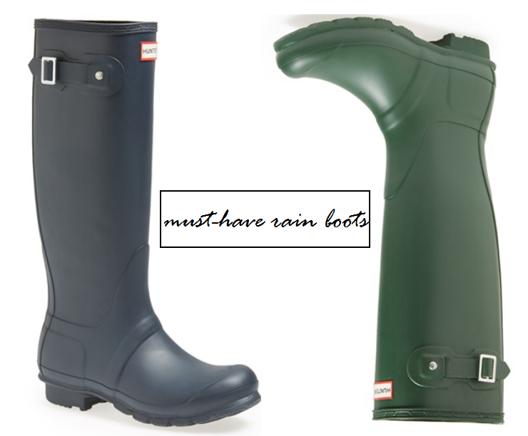The Best Rain Boots - Feathers and Stripes