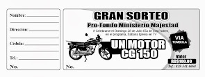 GRAN SORTEO MOTOR MAJESTAD