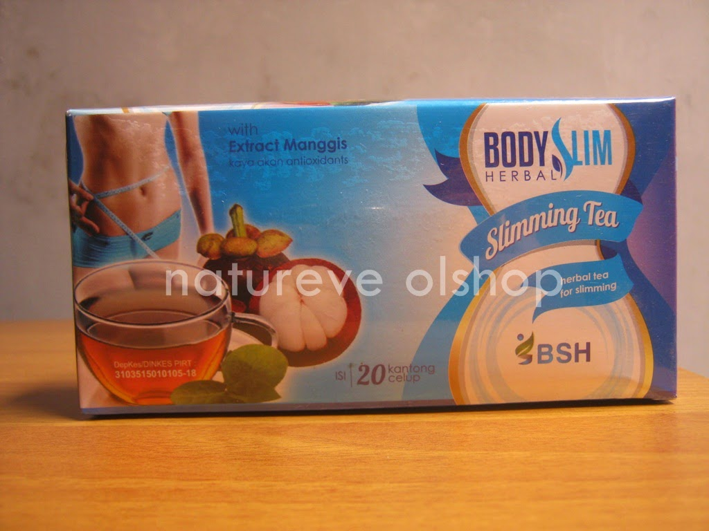 BSH Slimming Tea Penurun Berat Badan