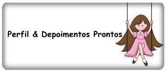 Perfiil & Depoimenttoos Prontoos  $