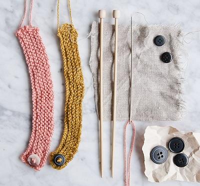 como hacer pulseras tejidas a mano