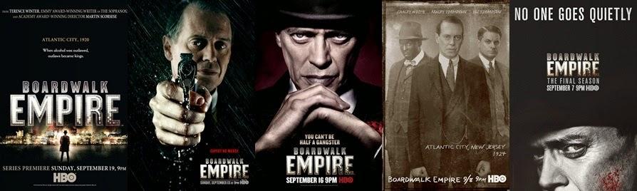 cinco temporadas de boardwalk empire