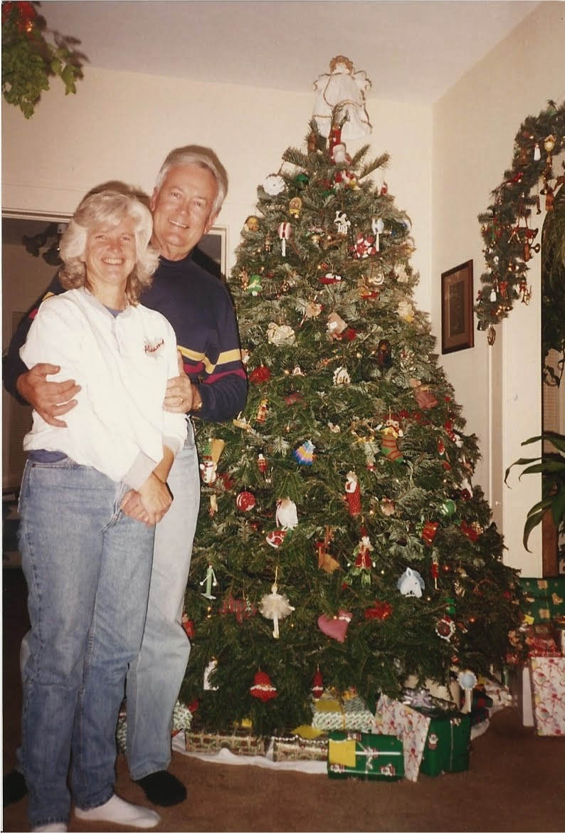 Christmas Season 1993, Galveston, TX (Teresa's house)