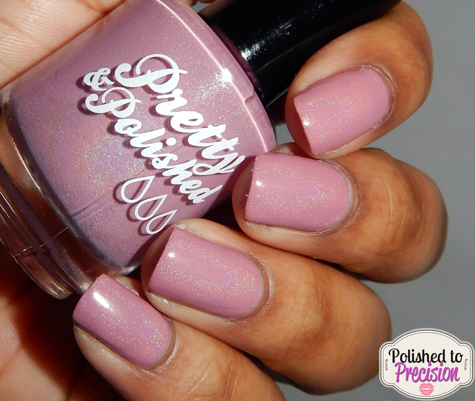 Pretty & Polished Travelin Down Dusty Rose