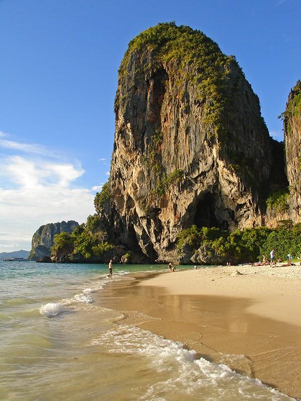 Photo de plage à Railay Beach (Krabi) en Thaïlande