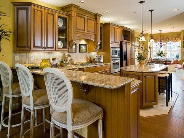 Model Home Interiors Kitchen