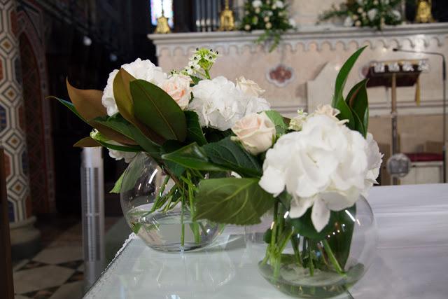 Why not wedding real wedding manuela e mattia un sogno for Ortensie bianche