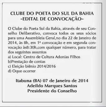 Clube do Poeta Sul da Bahia