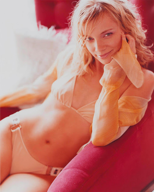 American  Actress Amy Smart  sexy in lingerie