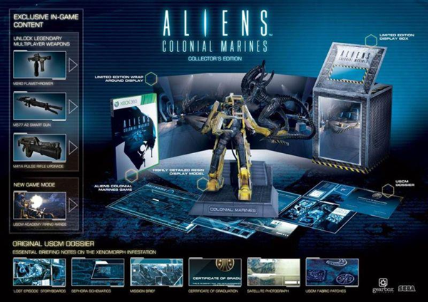 Aliens: Colonial Marines Collector's Edition Announced