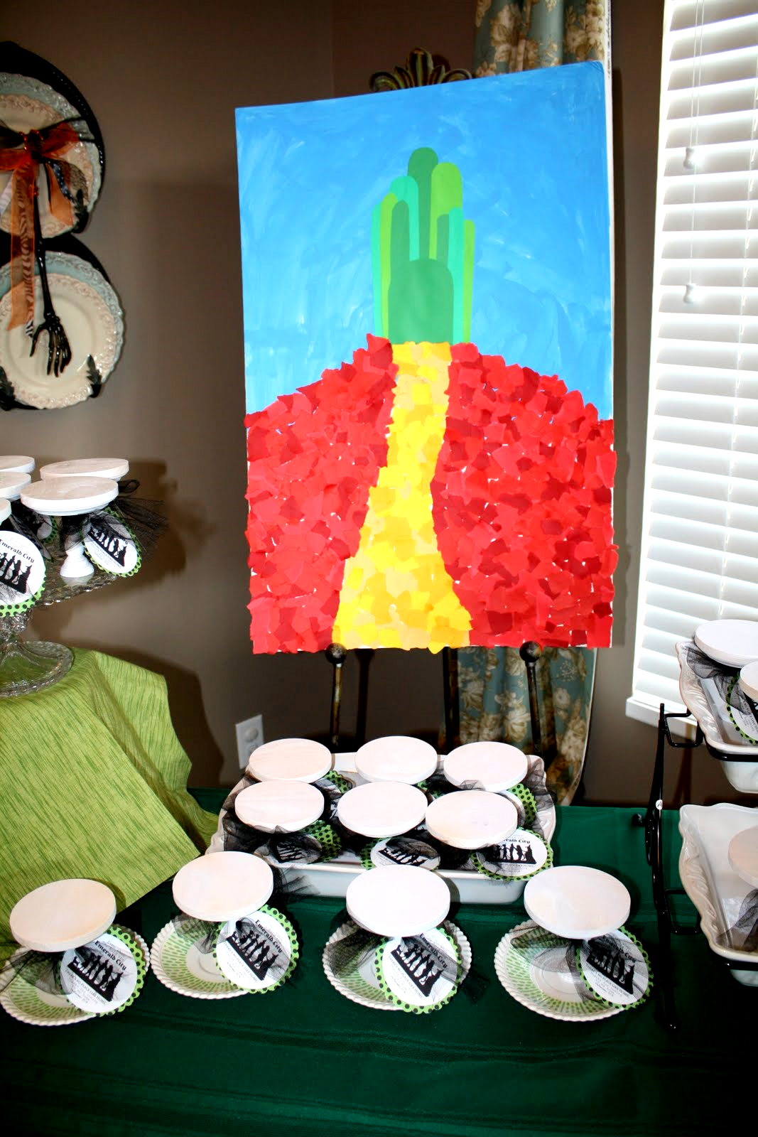 Wizard Of Oz Party Decorations Restlessrisa Wizard Of Oz Party Part 5 The Decor And Party