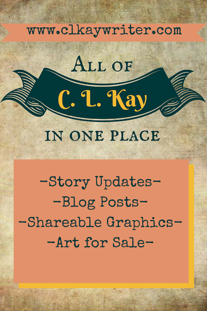www.clkaywriter.com | C. L. Kay | Website Graphic