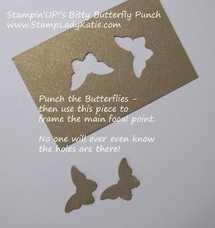 stamping tip for saving paper