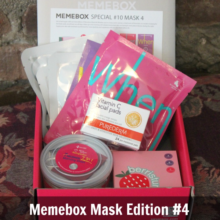 Memebox Global Special Edition #10: Mask Edition 4