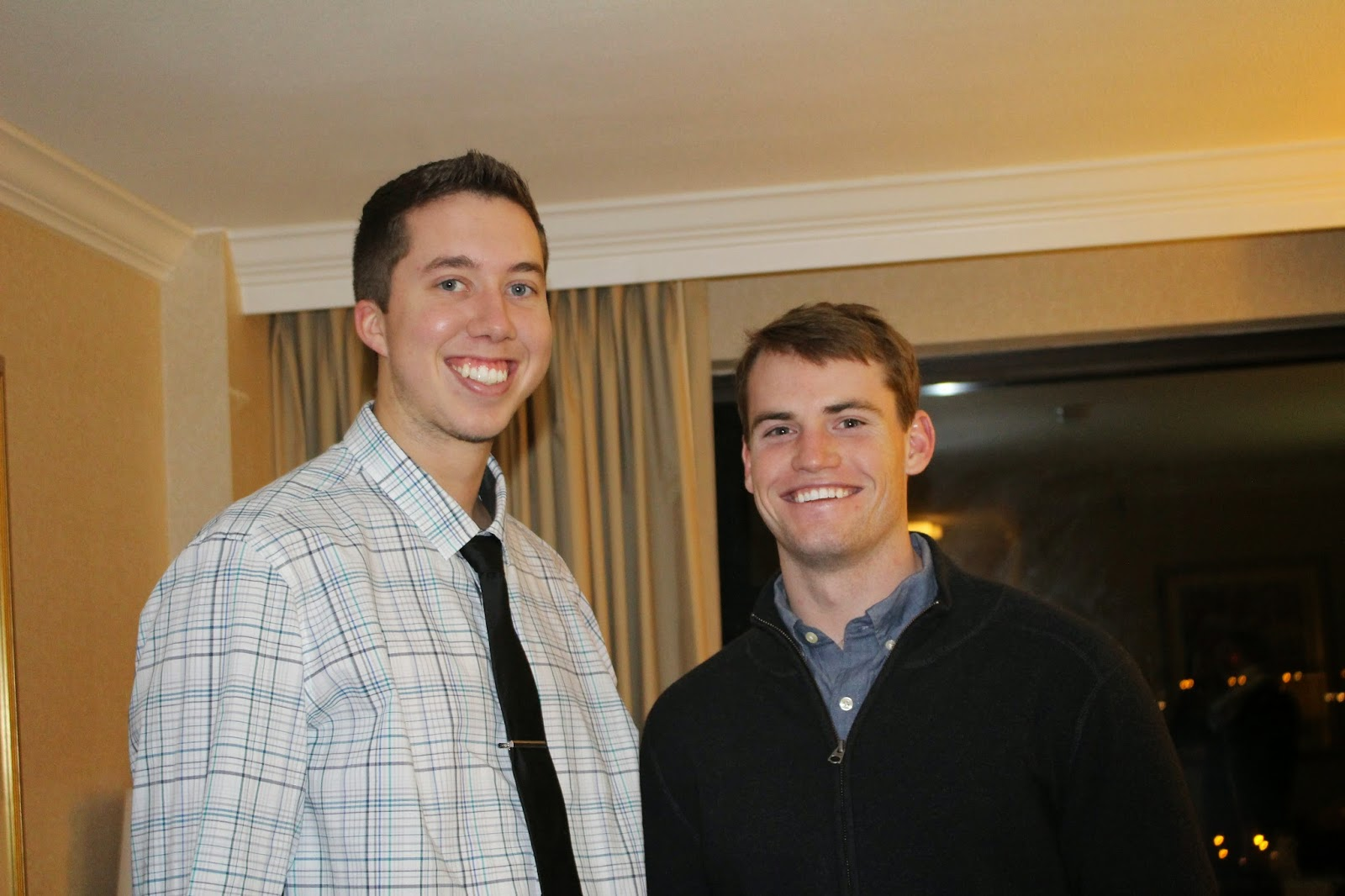 D.J. and Conner - New Year's Eve - Blog With The Browns