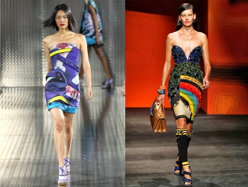 Mary Katrantzou and Prada