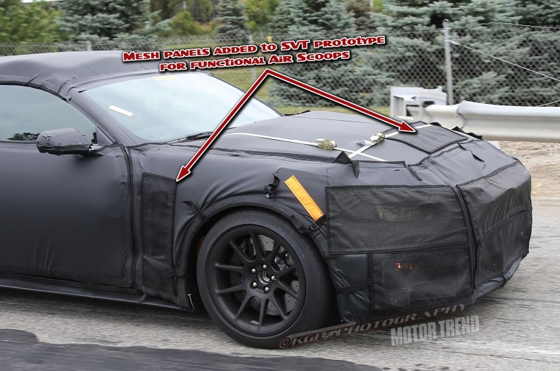 Sneak Peek: 2016 Ford Shelby Mustang GT350