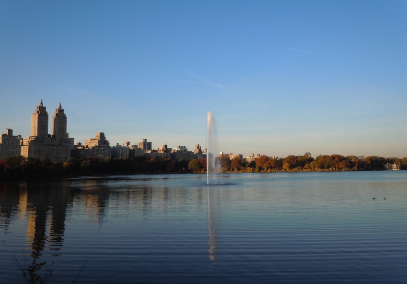 Autumnal Central Park Reservoir
