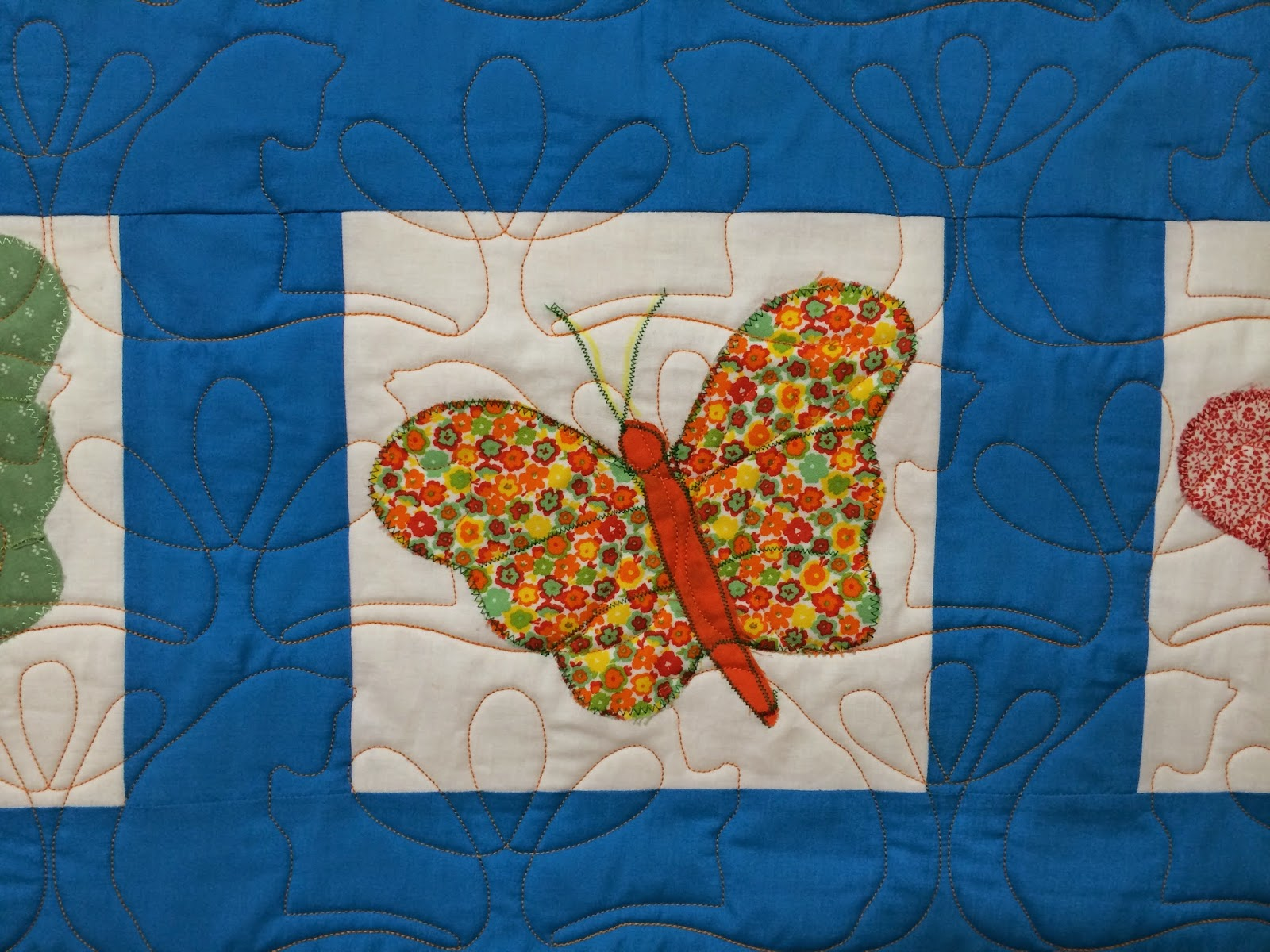 Sharon Lowther's Applique Butterfly Quilt
