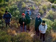 La primera excursió amb el grup de la Vicki i el Ricard