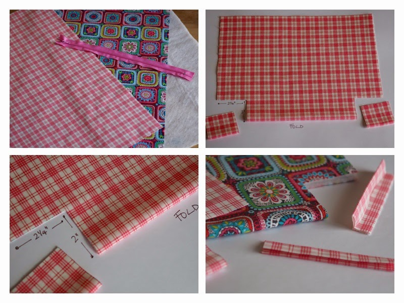 Cut Outer Fabric And Fusible Fleece 20 X 13