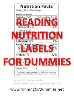 how to read a food label for dummies