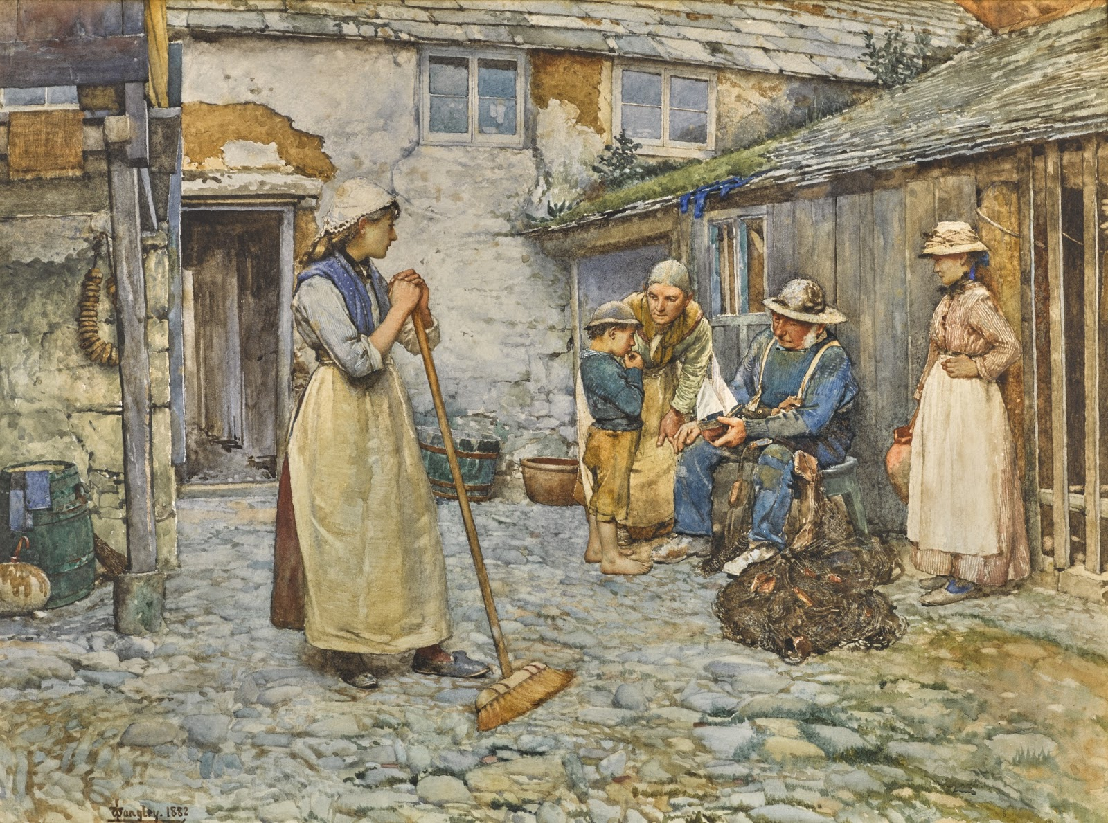 Walter Langley An authority