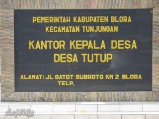 Nama-Nama Desa Unik dan Lucu di Indonesia