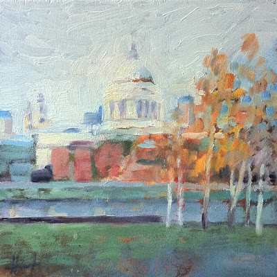 St.Paul's V by Liza Hirst