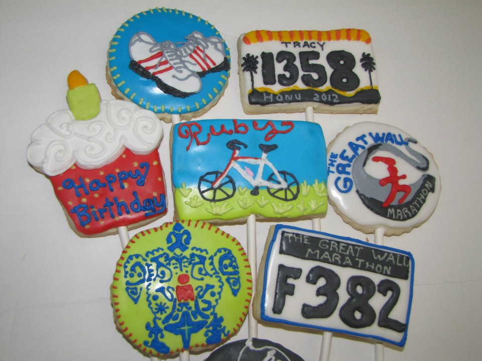 CedarGap Creations Cookies: Custom Design Marathon Runner ...
