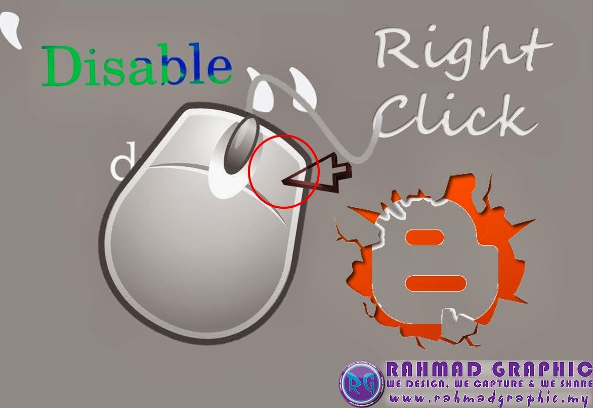 Cara Disable Right Click Pada Blogspot