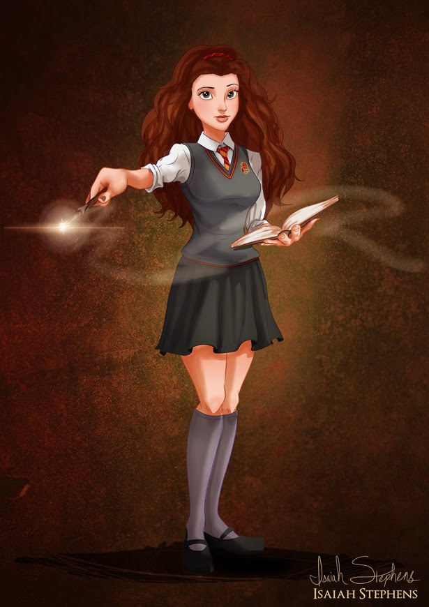 Bella como Hermione Granger