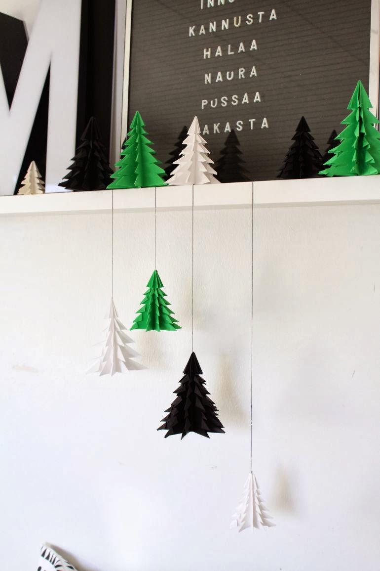 すべての折り紙 サンタクロース 折り紙 作り方 : DIY Origami Christmas Tree