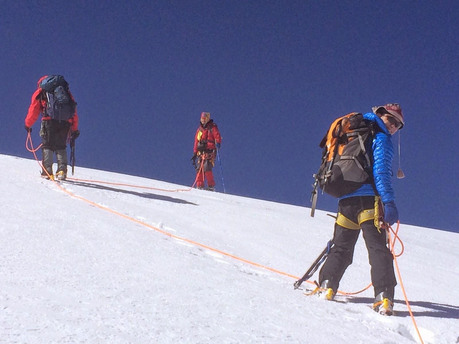 Mountain Climbing in Mongolia