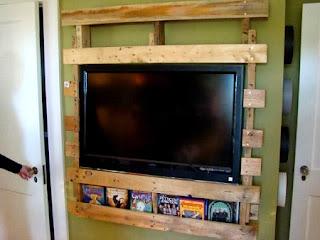 Muebles para TV Reciclados