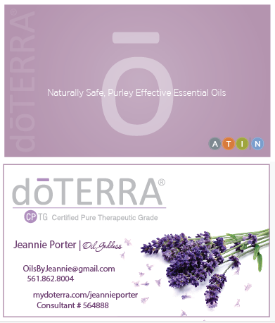 doterra business card template Car Tuning