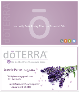 The Image Foundry doTERRA Business Cards