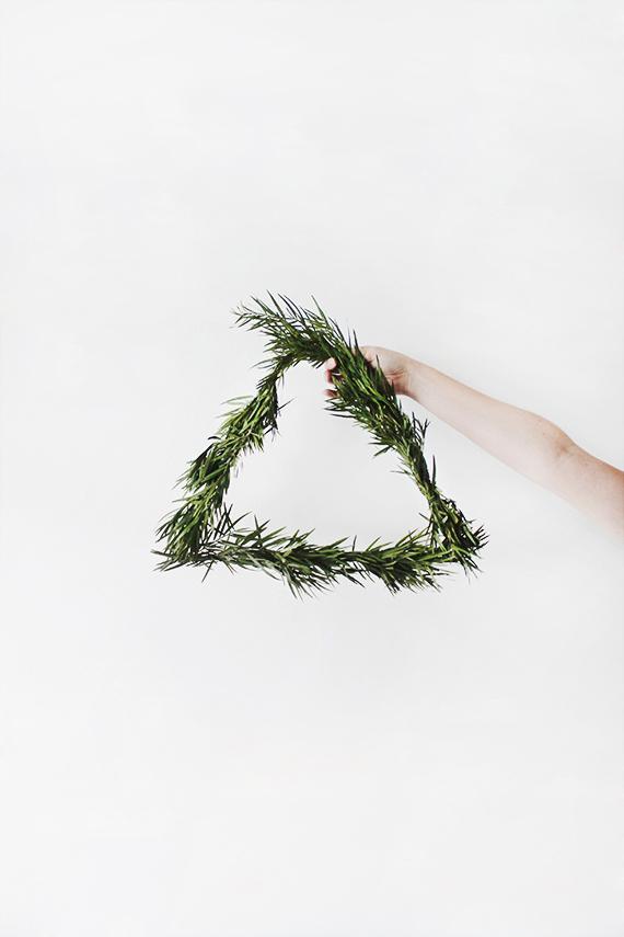 Minimalist wreath ideas | Almost Makes Perfect