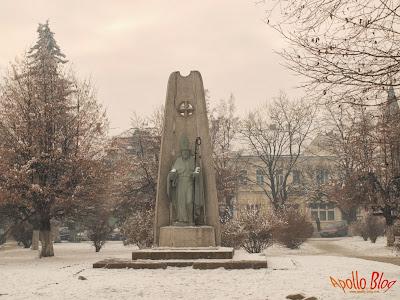 Gheorgheni, statuie centru