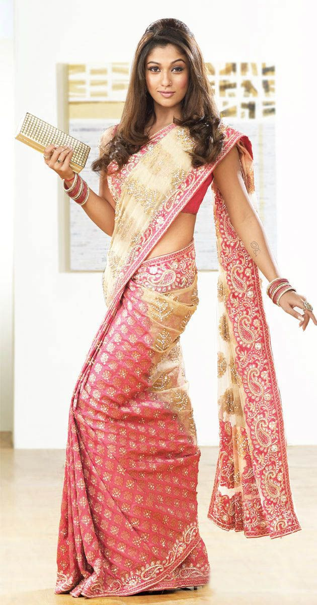 Beautiful Models Promotig Indian Sarees Latest Designs