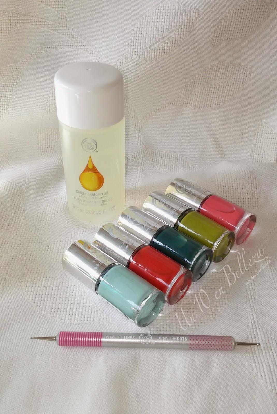 nail happiness, nails crush, The Body Shop