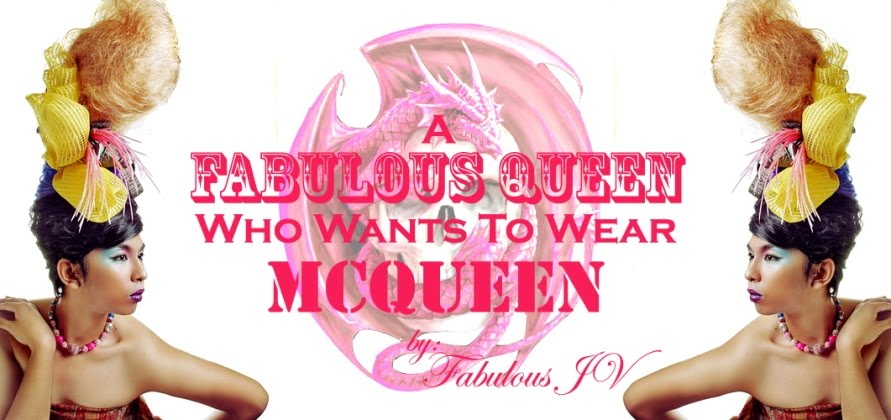 FabulousJV: A Fabulous Queen Who Wants To Wear McQueen
