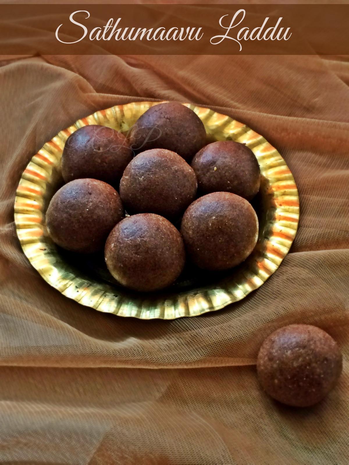 Sathumaavu Laddu Recipe