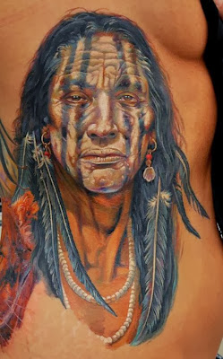 Native American Tattoo Tatouage