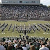 The Ohio University Marching 110 dancing to Gangnam Style