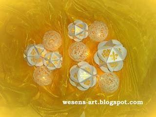 Paperglobes + Woolen Globes     wesens-art.blogspot.com