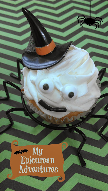 My Epicurean Adventures: Spider Cupcake