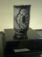 1900年、仏のエミール・ガレの作品で「鍔文花器」