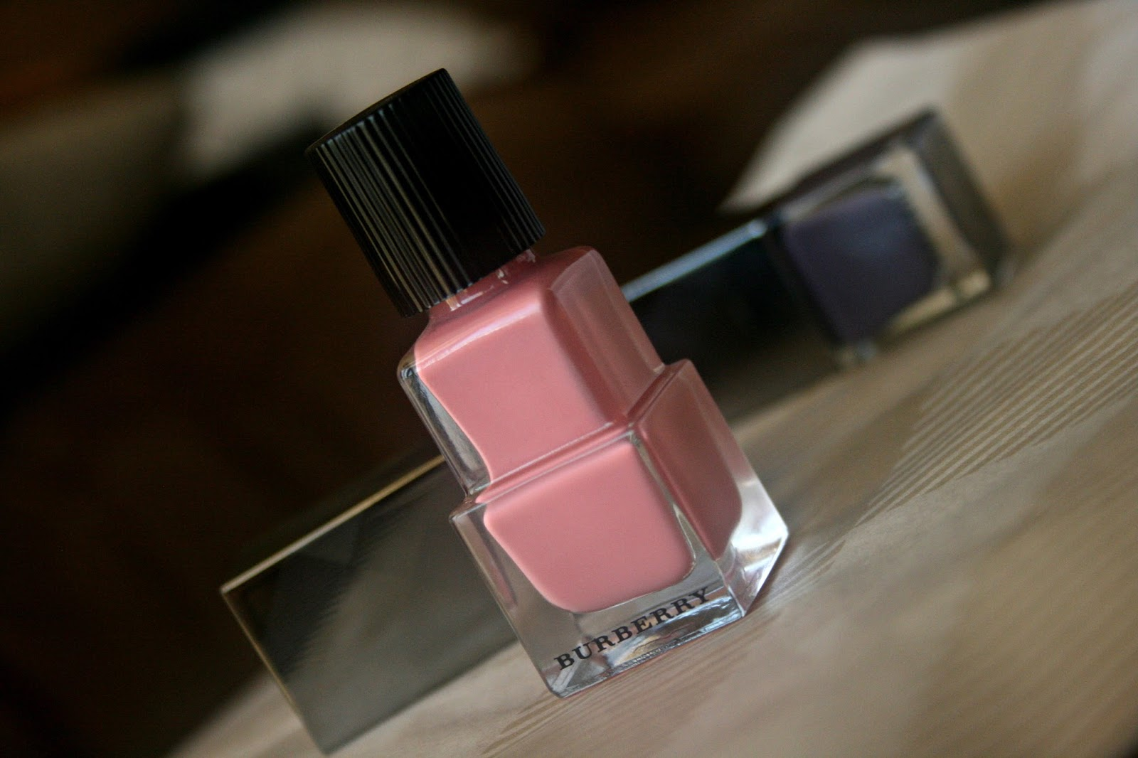 Burberry Beauty Nail Polish in Rose Pink No. 400 Review, Photo, Swatches and NOTD