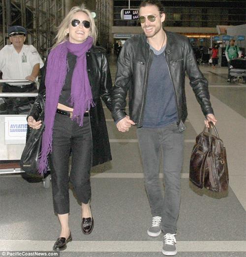 Sharon Stone novio argentino